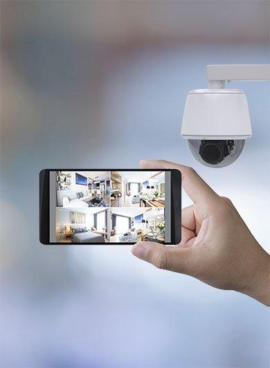 Votre système de surveillance connecté avec l'entreprise AEG